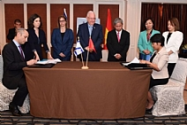 Israel and Vietnam signed an agreement