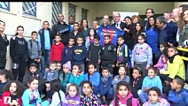 Barca Foundation - A visit to the Lod Community Center